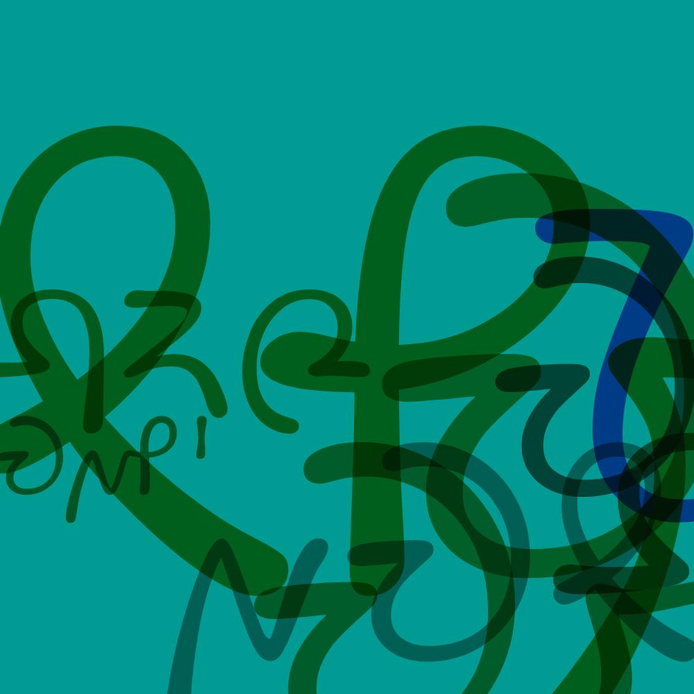 Queezoid. Space graffiti.